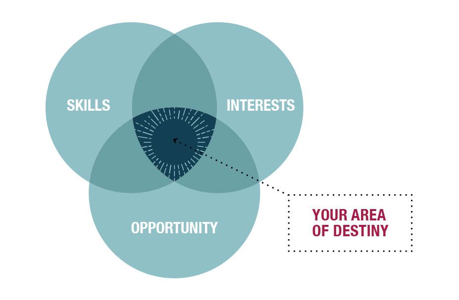 Venn Diagram, Your Area of Destiny