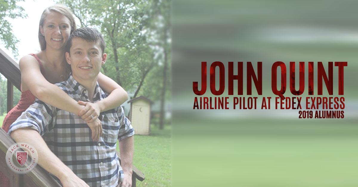 John Quint Airline Pilot FedEx