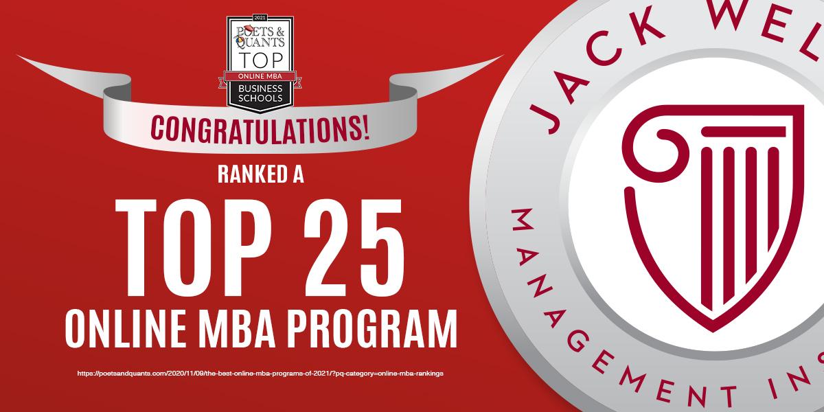 Top 25 Online MBA Program
