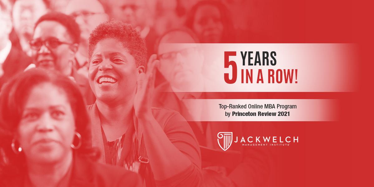 Princeton Review Ranks JWMI a Top 25 Online MBA Program