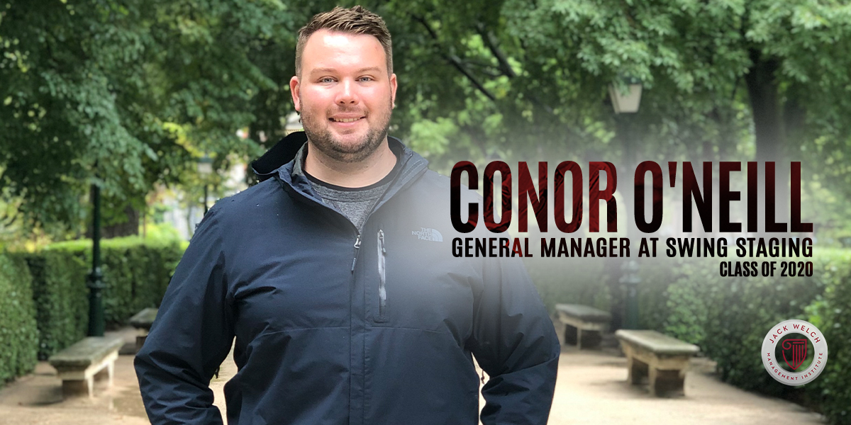 Conor O'Neill, Jack Welch MBA