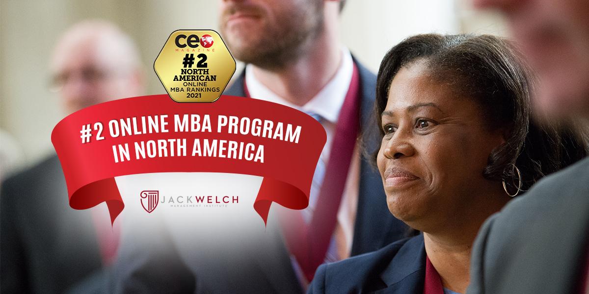 #2 Online MBA Program in North America
