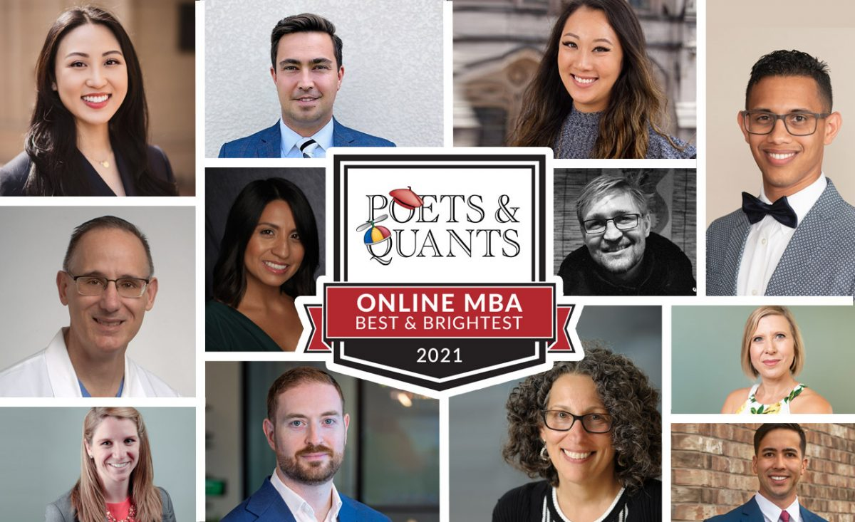 2021 Best and Brightest Online MBA