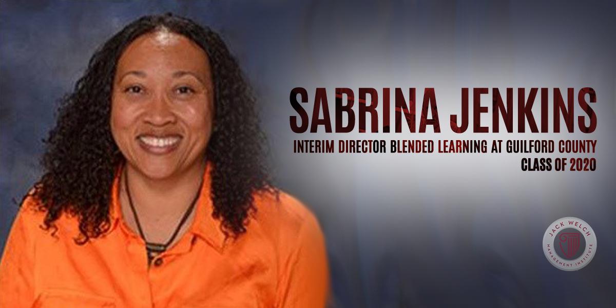 Sabrina Jenkins, Jack Welch MBA