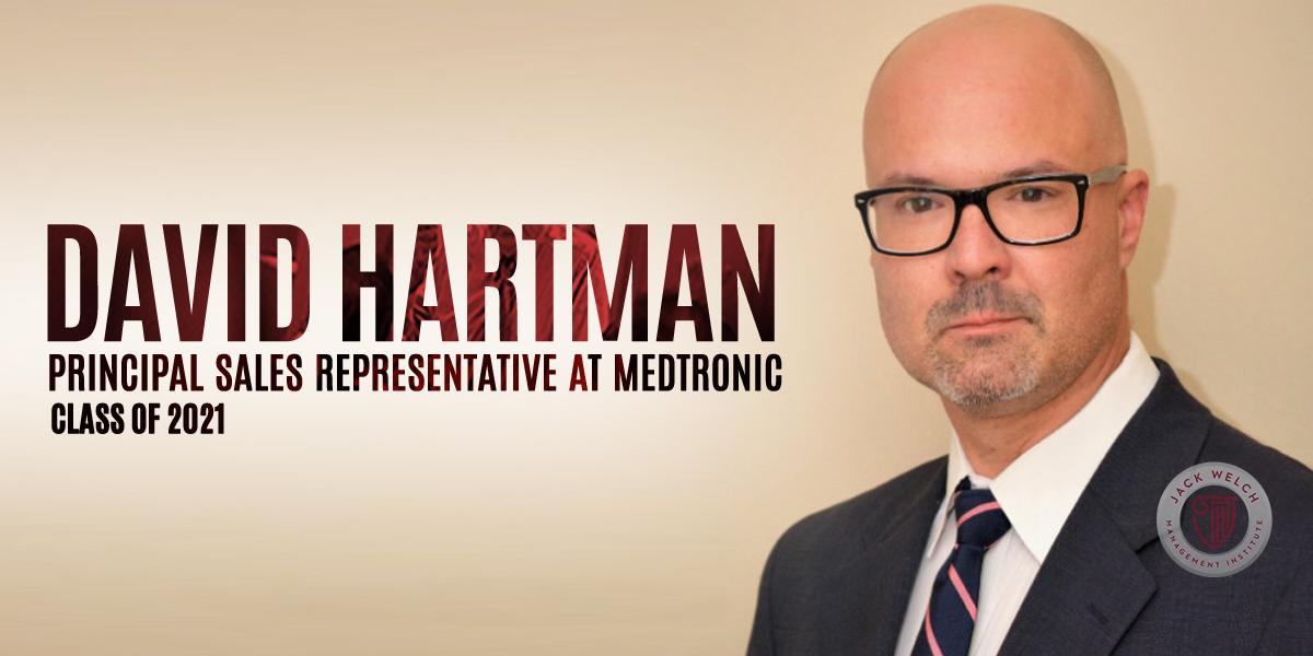 David Hartman, Jack Welch MBA