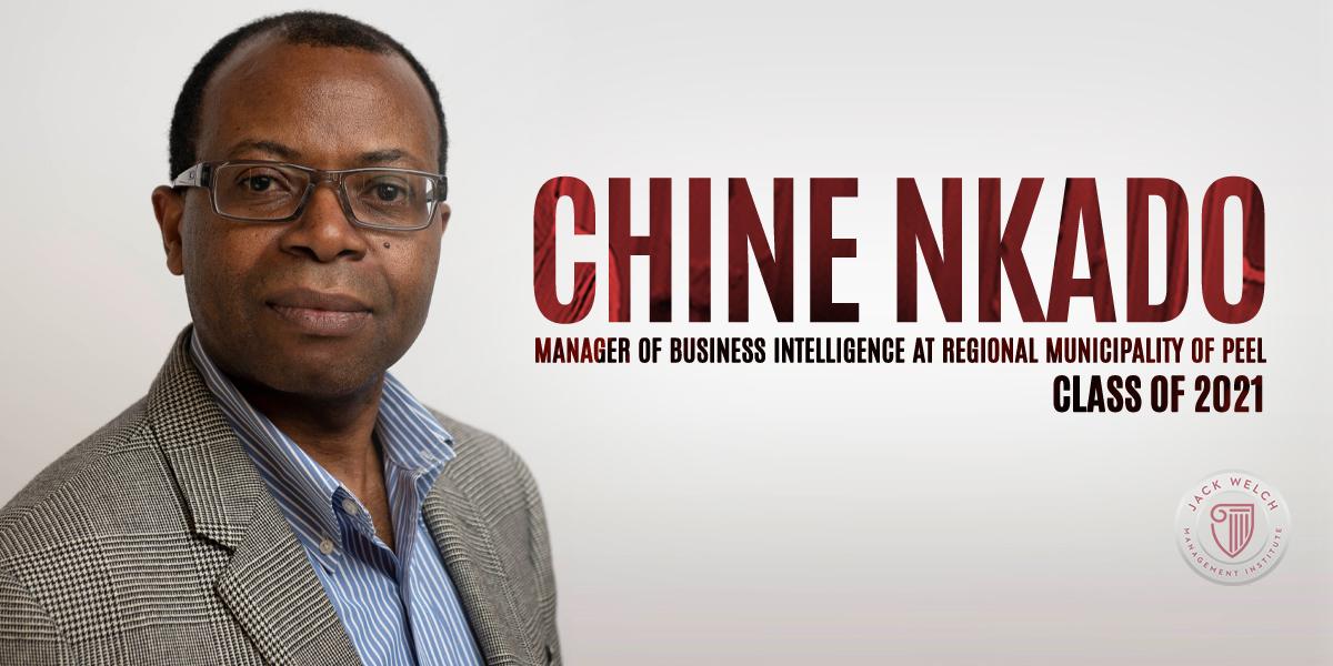 Chine Nkado, Jack Welch MBA