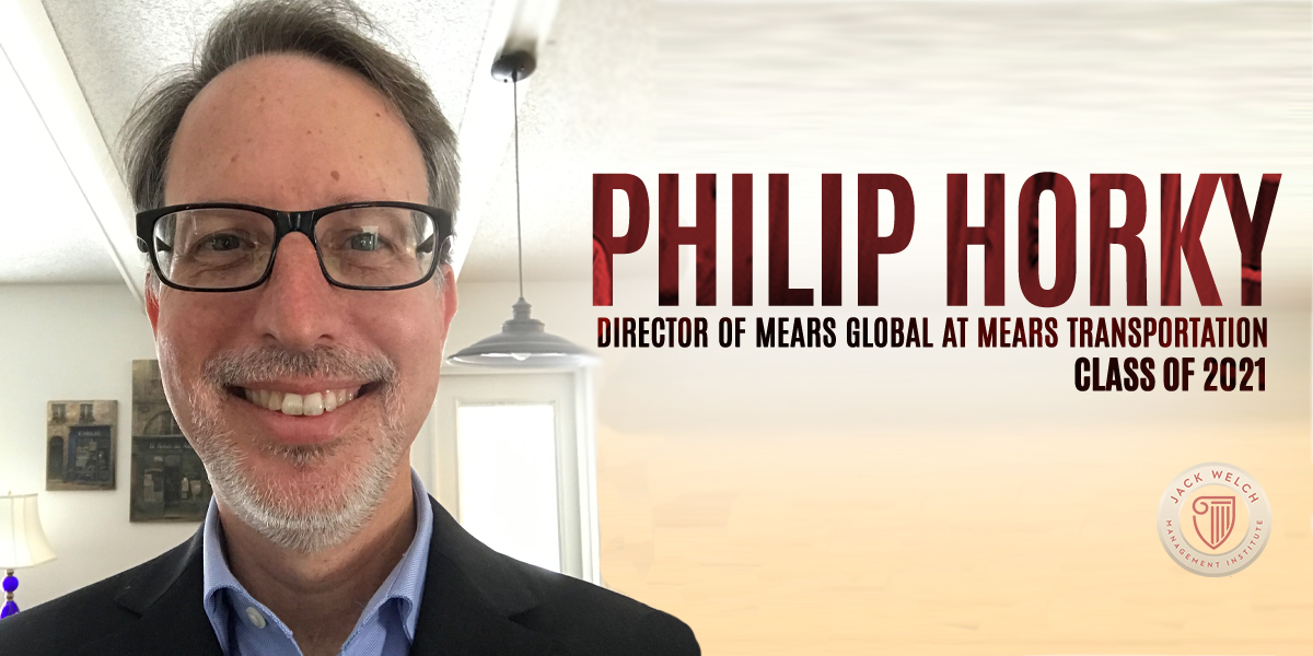Philip Horky, Jack Welch MBA